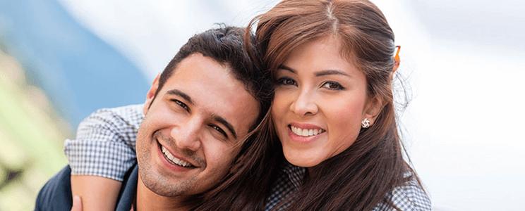 Smiling Couple Image