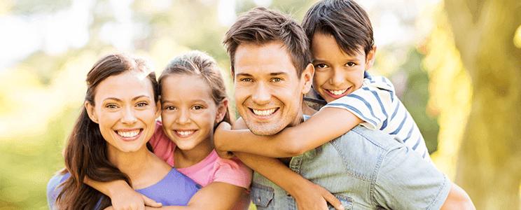 Smiling Family Image